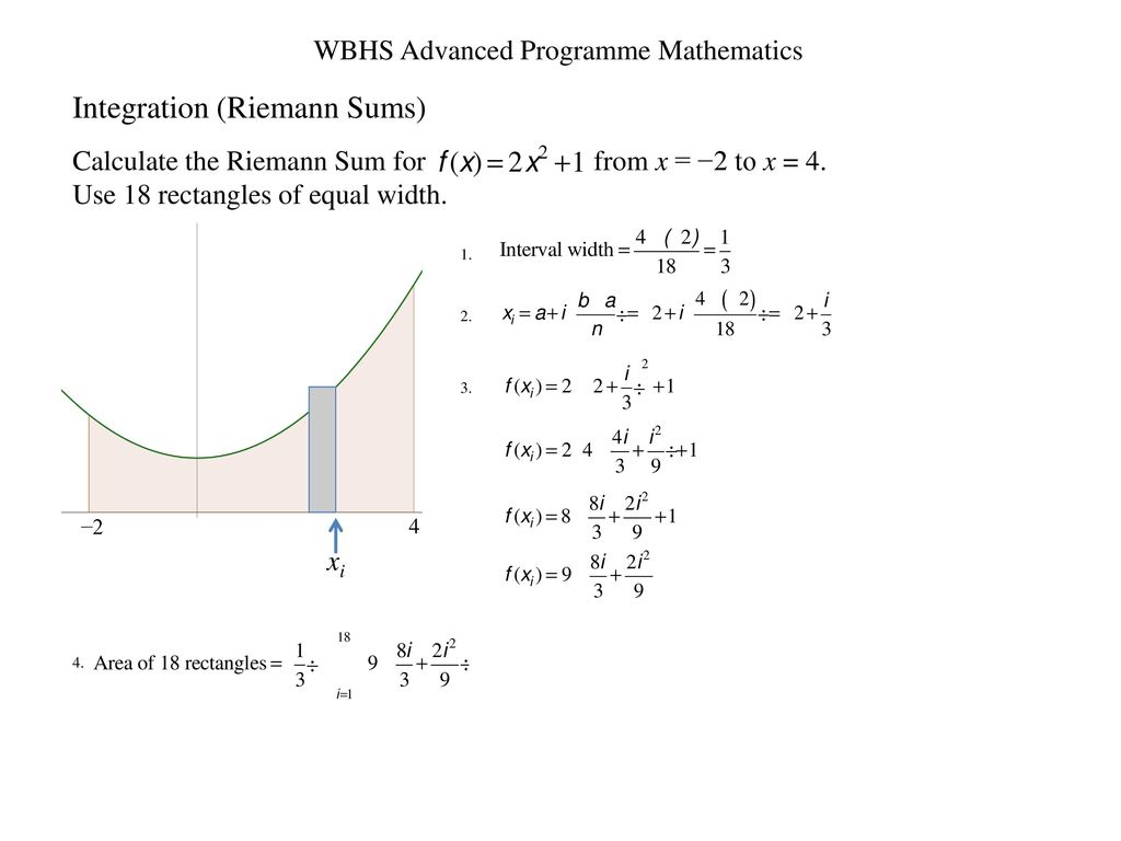 Wbhs Advanced Programme Mathematics Ppt Download