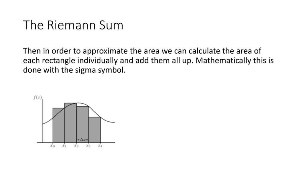 Mth1170 Integrals As Area Ppt Download