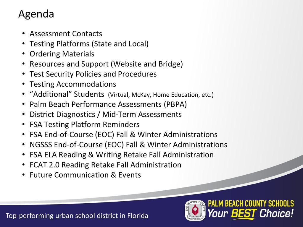 Secondary Test Coordinators' Pretest Workshop - ppt download