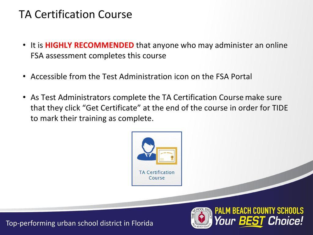 Secondary Test Coordinators Pretest Workshop Ppt Download