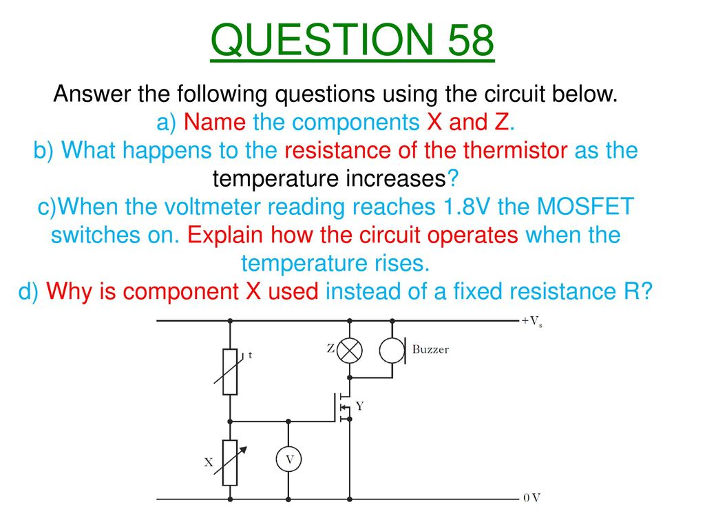 Nat 5 Electricity And Energy Ppt Download Electric Circuit Questions 61 Question