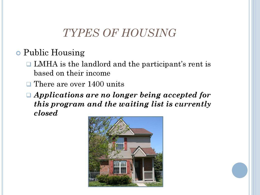 Lorain Metropolitan Housing Authority - ppt download