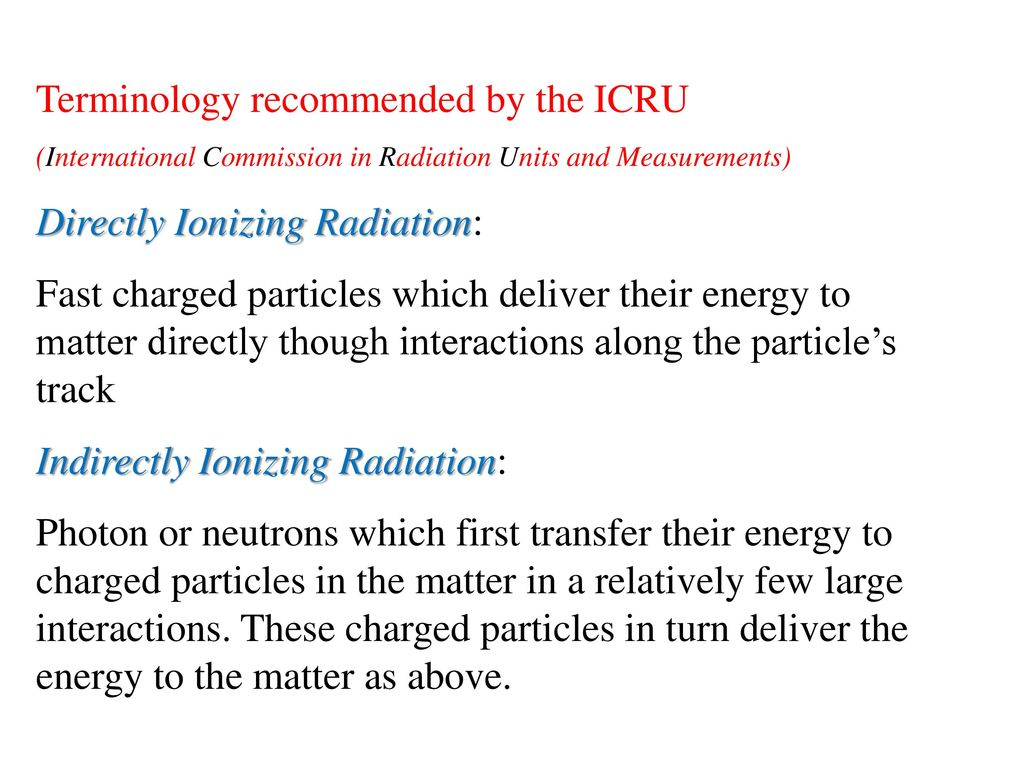 Pcs352 Lab 1 Characteristics Of A Geiger Counter Ppt Download Diagram Showing The Process By Which Works Terminology Recommended Icru Directly Ionizing Radiation