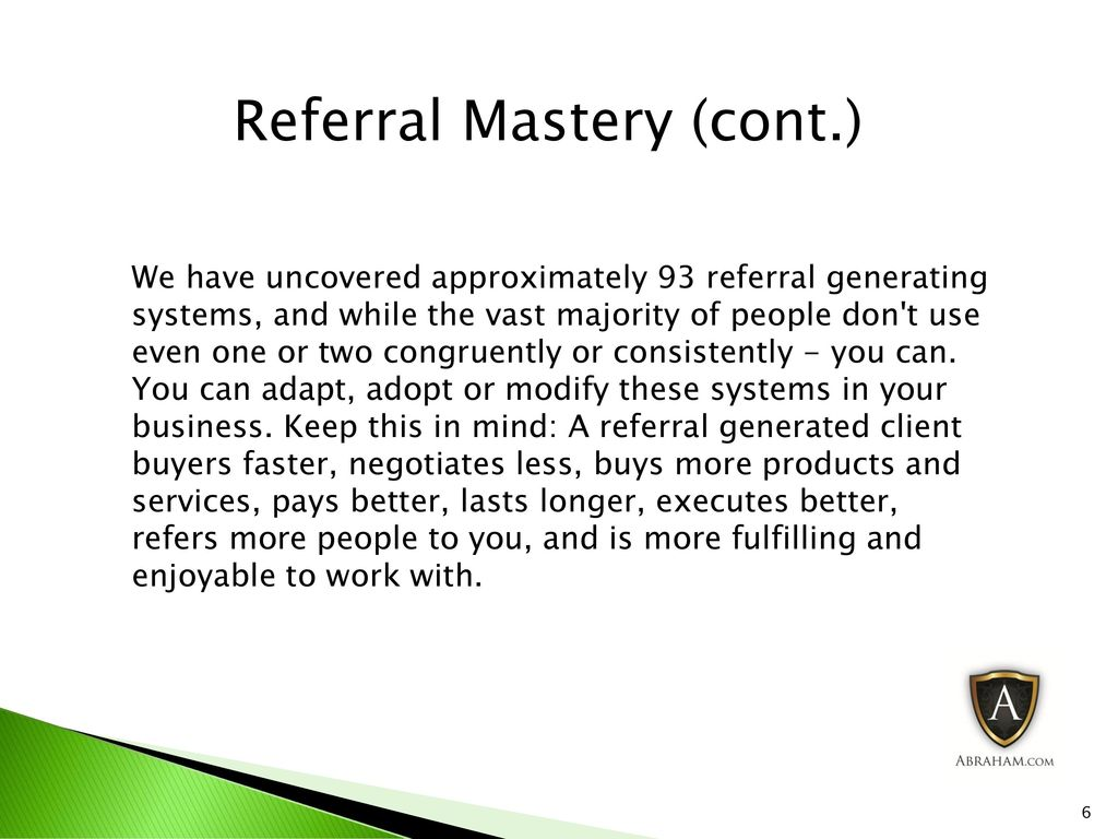 Business growth strategist building a power practice ppt download 6 referral malvernweather Image collections