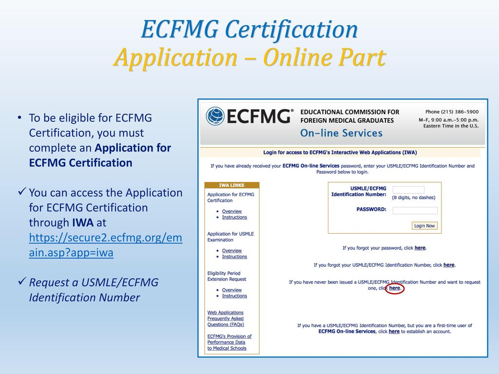 Ecfmg Certification Step By Step Guide Ppt Download