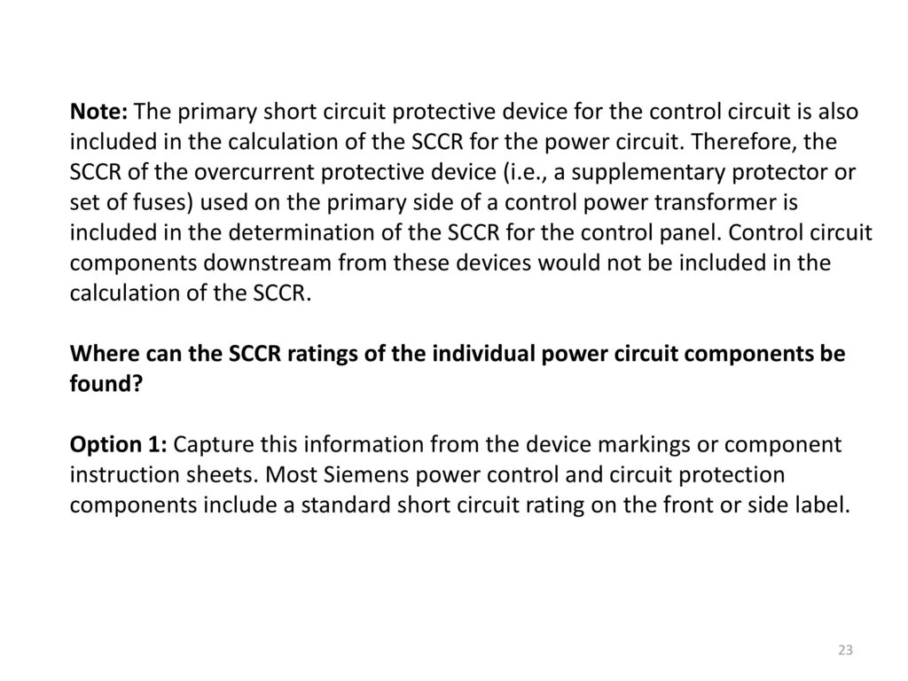 Ch 67 Faults And Fault Calculations Ppt Download Overcurrent Short Circuit Relay Over Current Protection Note The Primary Protective Device For Control Is Also Included In