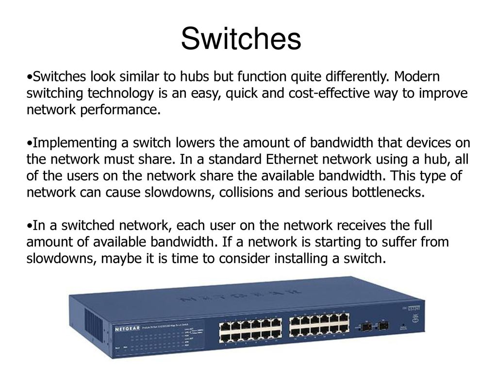 Introduction to Network Hardware - ppt download