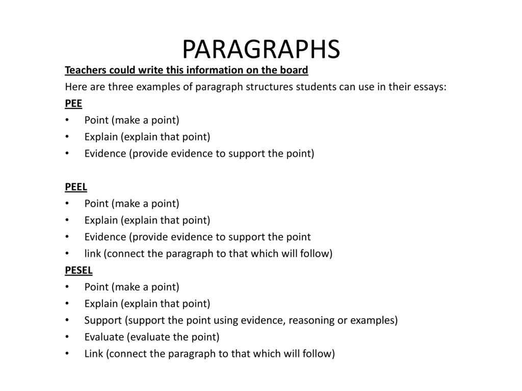 Do My Biology Assignment Paragraphs Teachers Could Write This Information On The Board Examples Of Thesis Statements For English Essays also Assignment Writing Service Uk Essay Writing Some Activities For Teachers  Ppt Download I Need To Buy A Research Papre