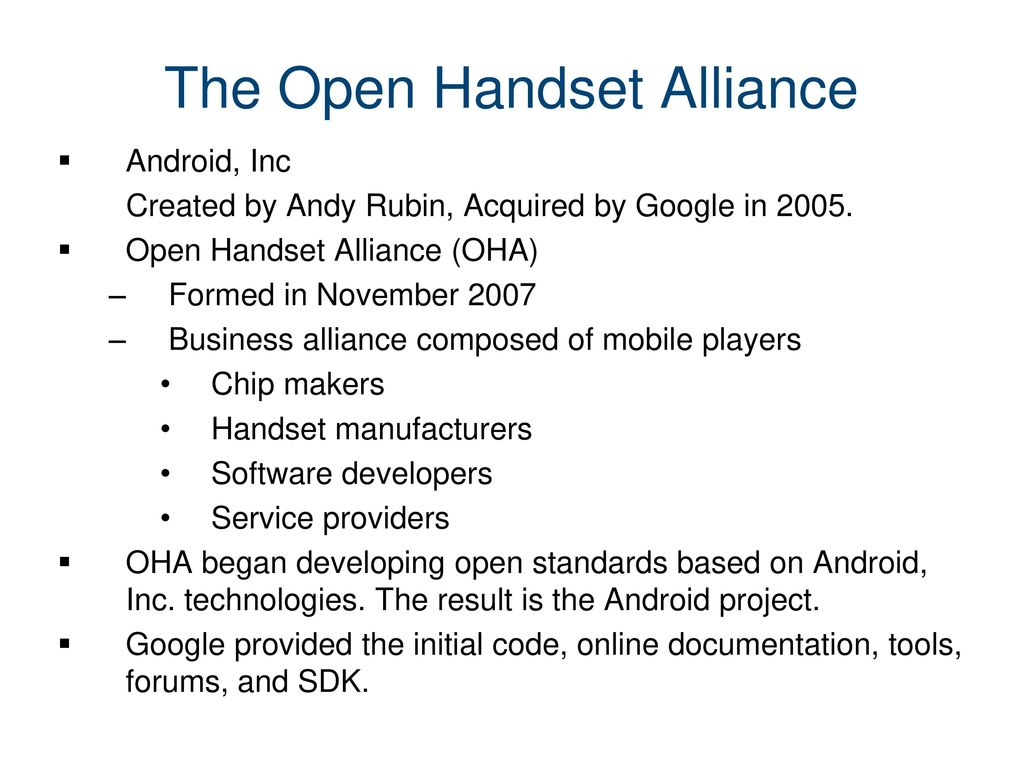 Android Programming  - ppt download