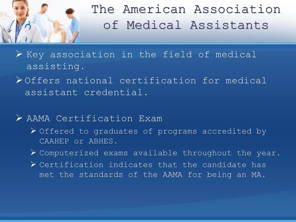 Medical Assistants The Profession Ppt Download