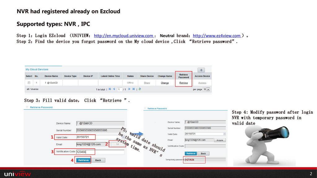 NVR Password Retrieve PPT模板-目录  - ppt download