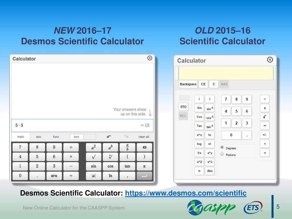 scientific calculator desmos