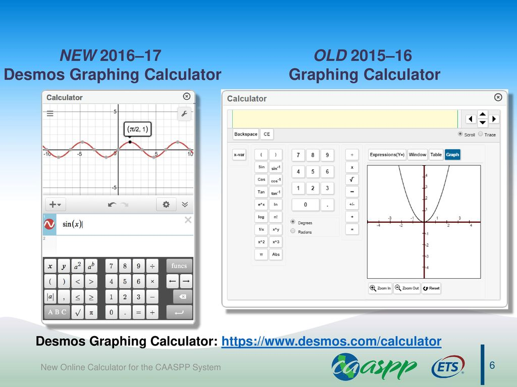 New Online Calculator for the CAASPP System - ppt video