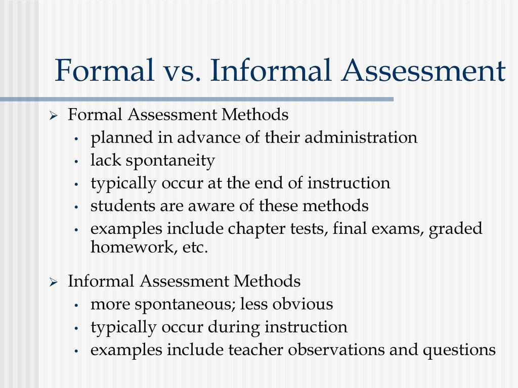 Chapter 1 Assessment In Elementary And Secondary Classrooms Ppt