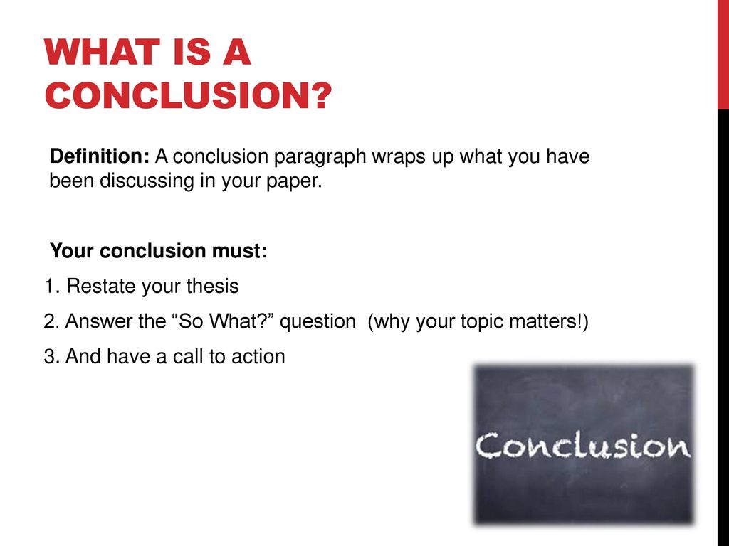 conclusion and mla format - ppt download