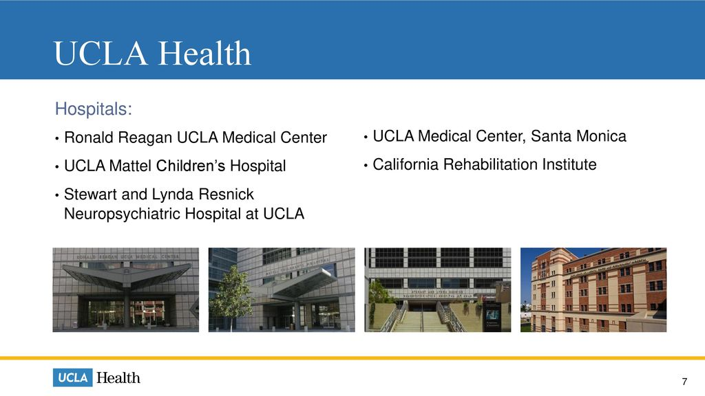 Who We Are  Who We Are UCLA Health Physician Practices and Clinics