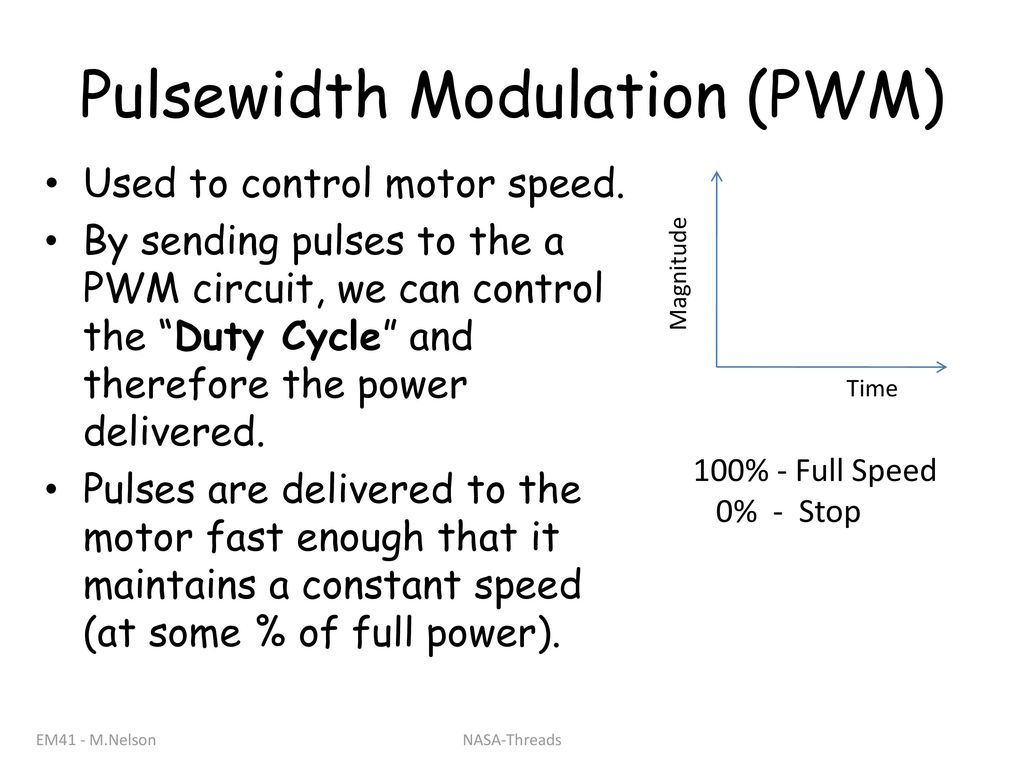Generators Motors And Ac Power Ppt Download Pulse Width Modulation Used For Motor Control 8 Pulsewidth Pwm To