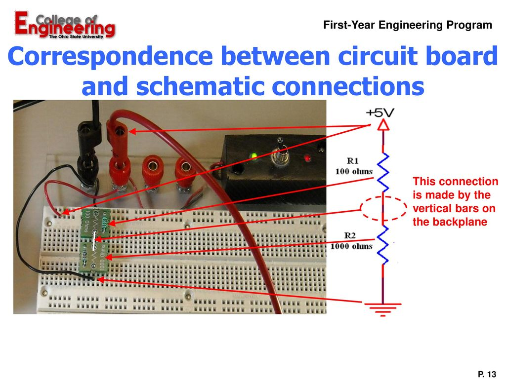 Overview Of Labs Lab 1 Introduction To Roller Coaster Design 2 Modified Electronics Circuit Power Supplay Correspondence Between Board And Schematic Connections