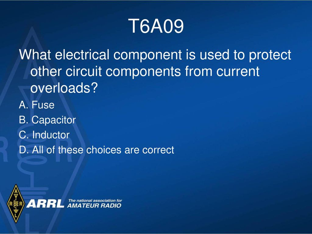 basic electricity components ppt video online downloadt6a09 what electrical component is used to protect other circuit components from current overloads