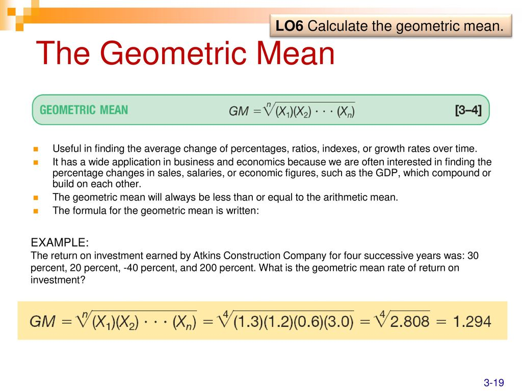 Communication on this topic: How to Calculate the Geometric Mean, how-to-calculate-the-geometric-mean/