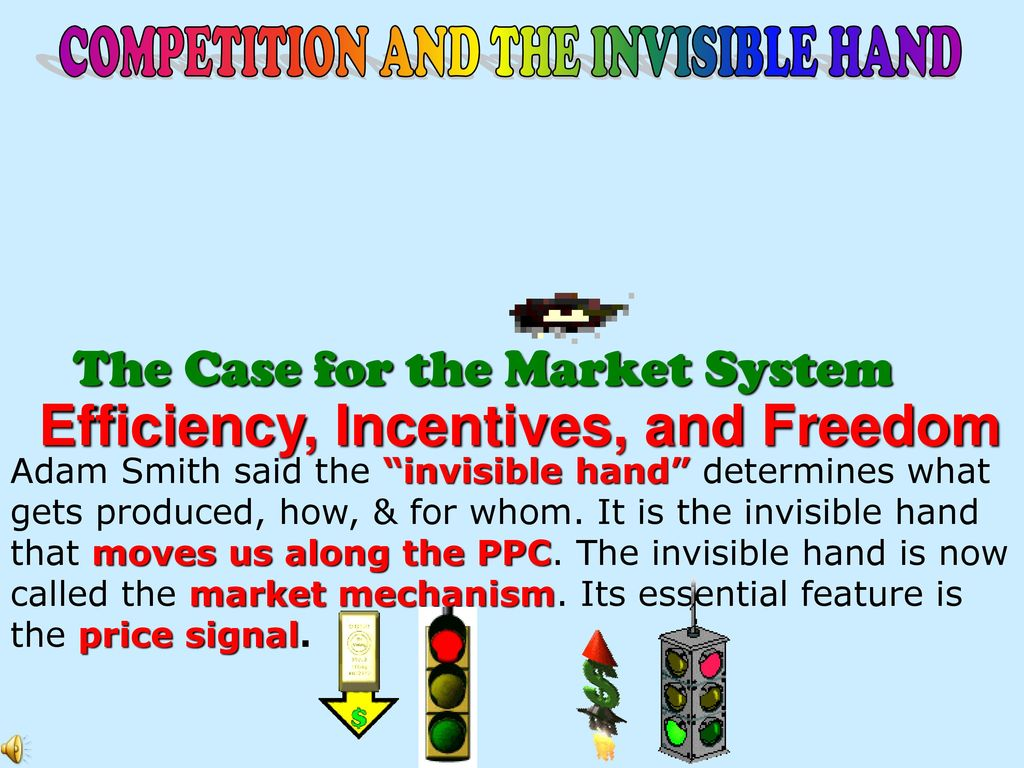 features of market mechanism system