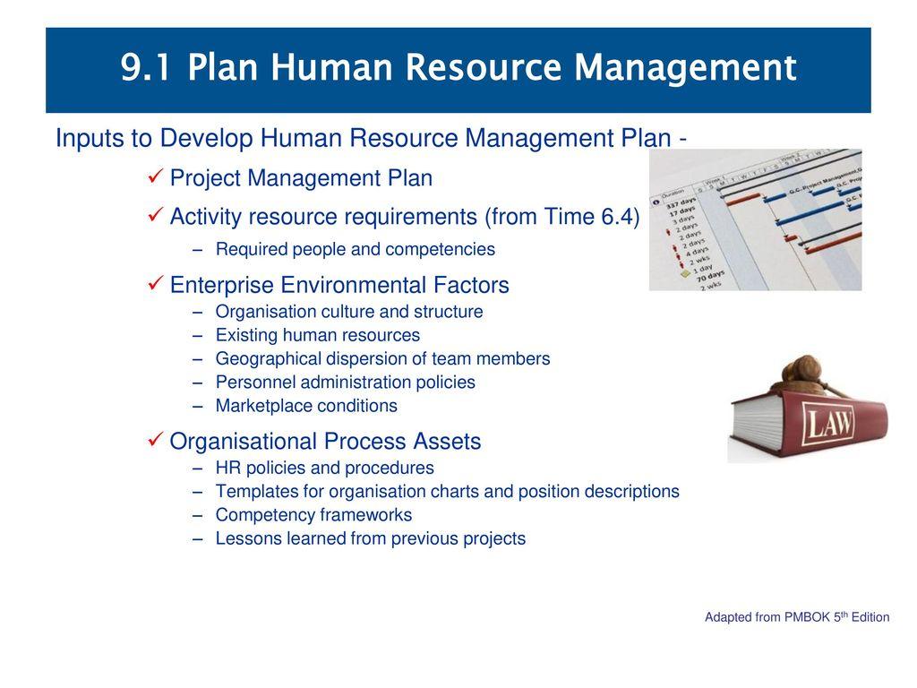 91 plan human resource management