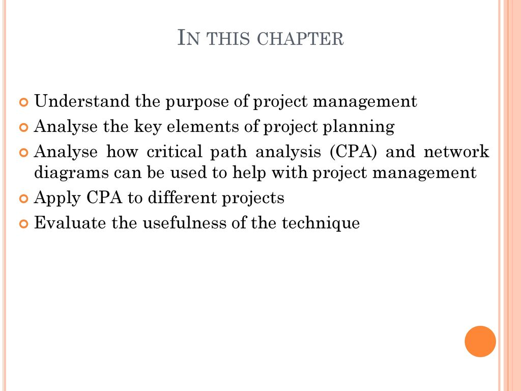 The nature of operations ppt download in this chapter understand the purpose of project management ccuart Image collections