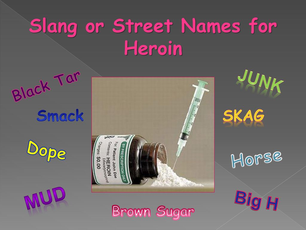 Inhalants Street Names