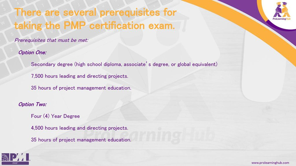 The Project Management Institute Has All Pmp Exam Information On