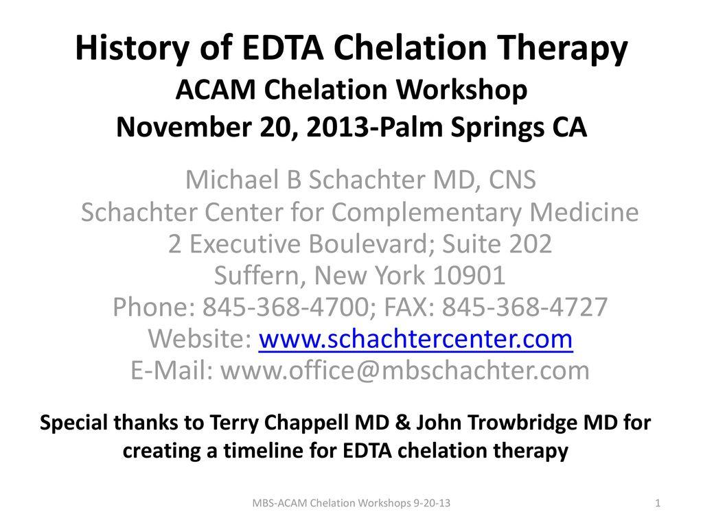 Michael B Schachter MD, CNS - ppt download