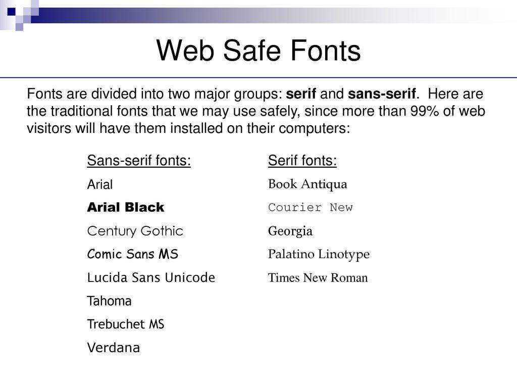 Fonts  - ppt download