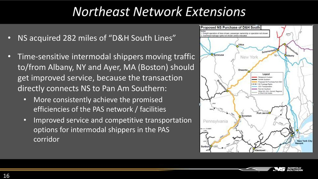 Intermodal Report from Norfolk Southern - ppt download