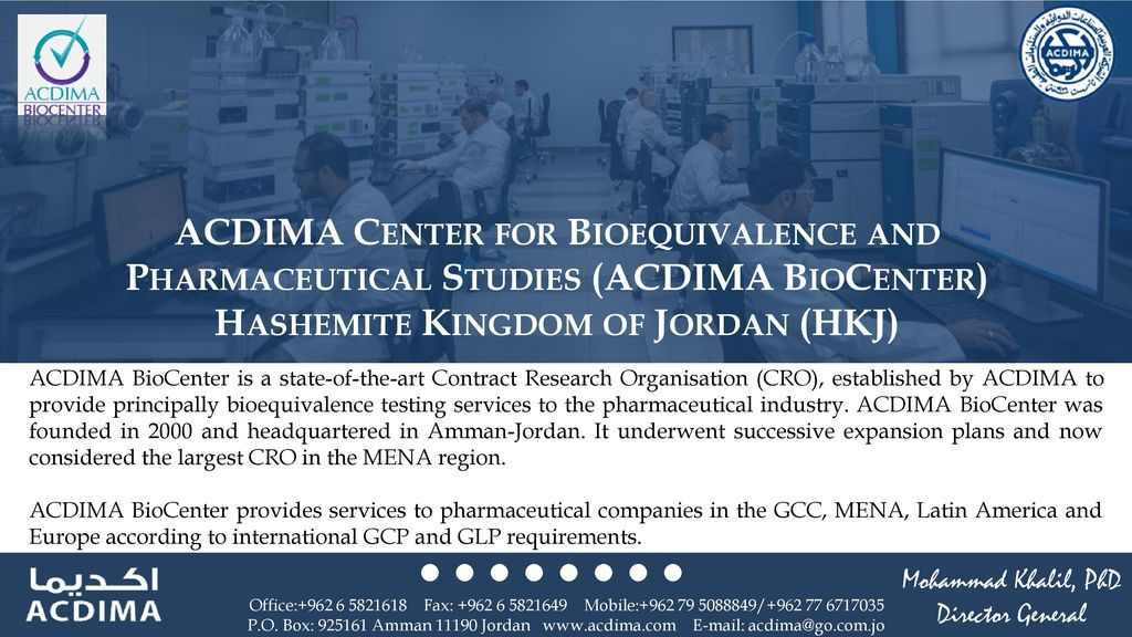 Mohammad Khalil, RPh, PhD - ppt download