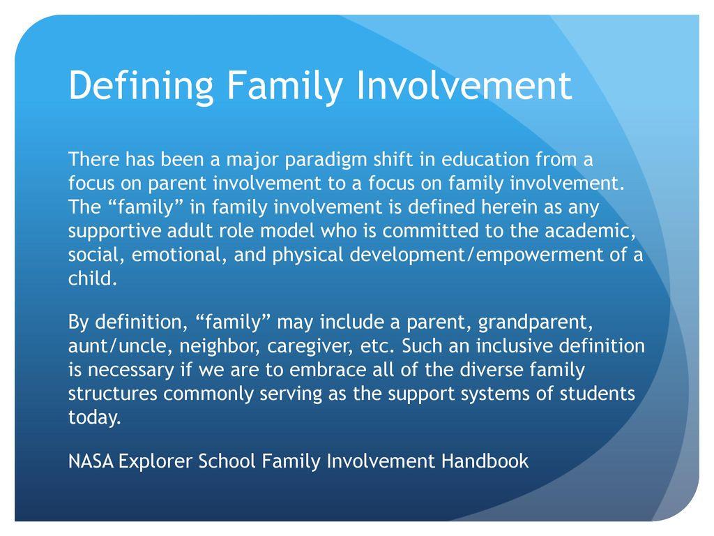 parental involvement scott meyer. - ppt download