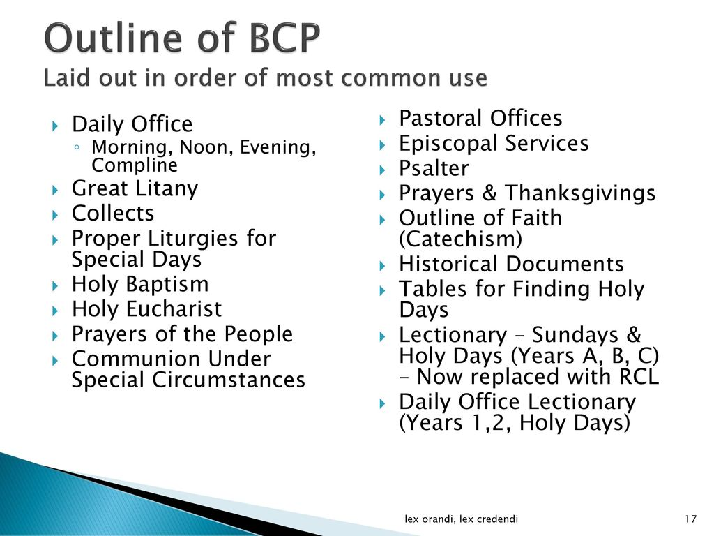 The Book of Common Prayer - ppt video online download