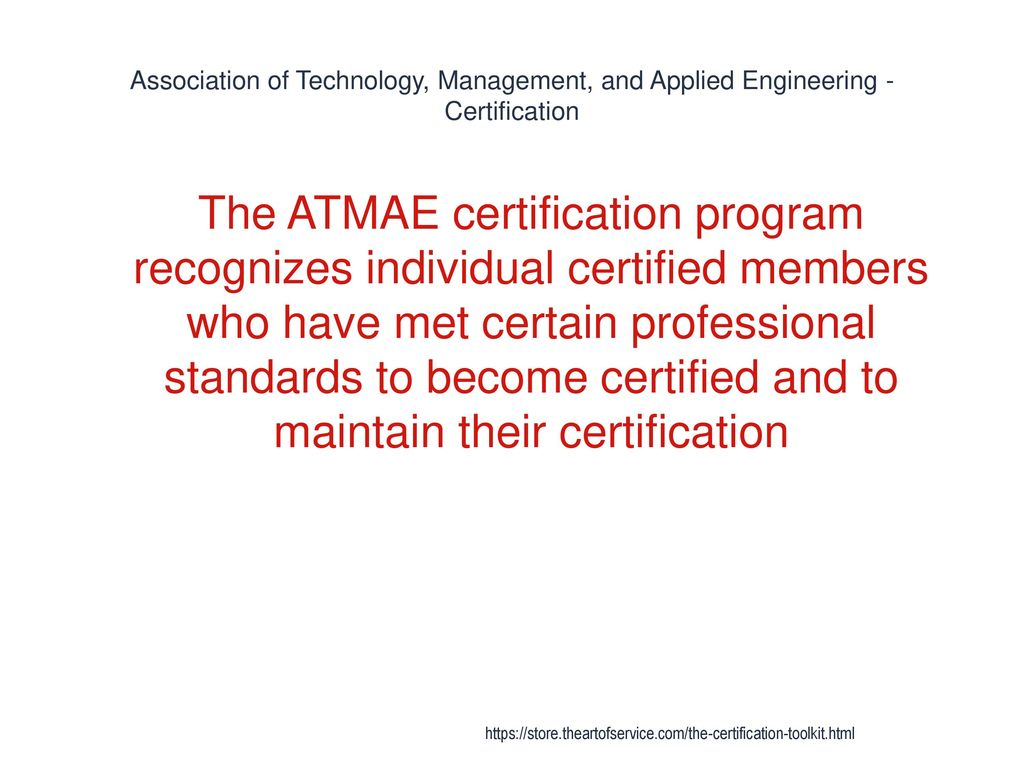 Certification Ppt Download