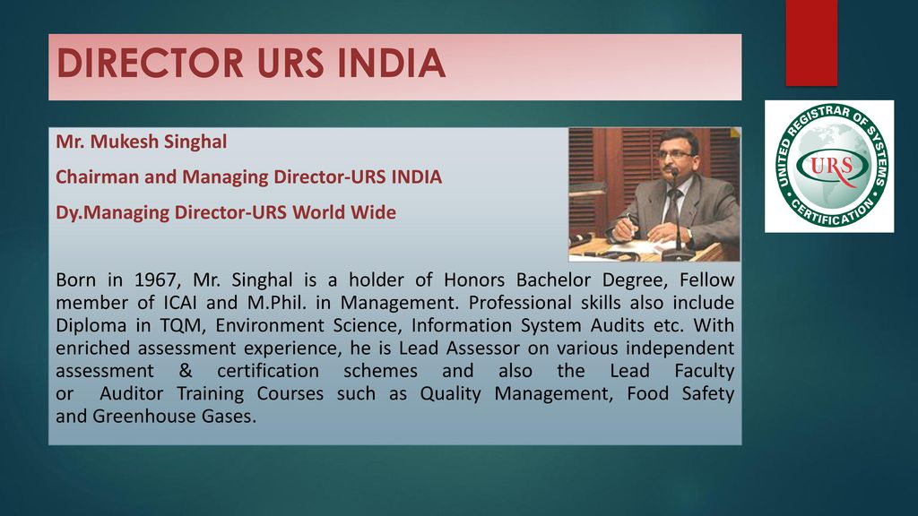 WELCOME TO URS - UNITED REGISTRAR OF SYSTEMS - ppt download