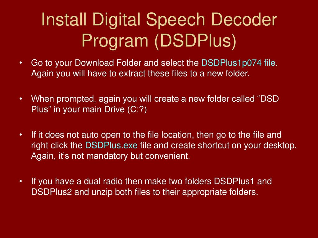 Setting up the Patriotwaves SDR Radio - ppt download
