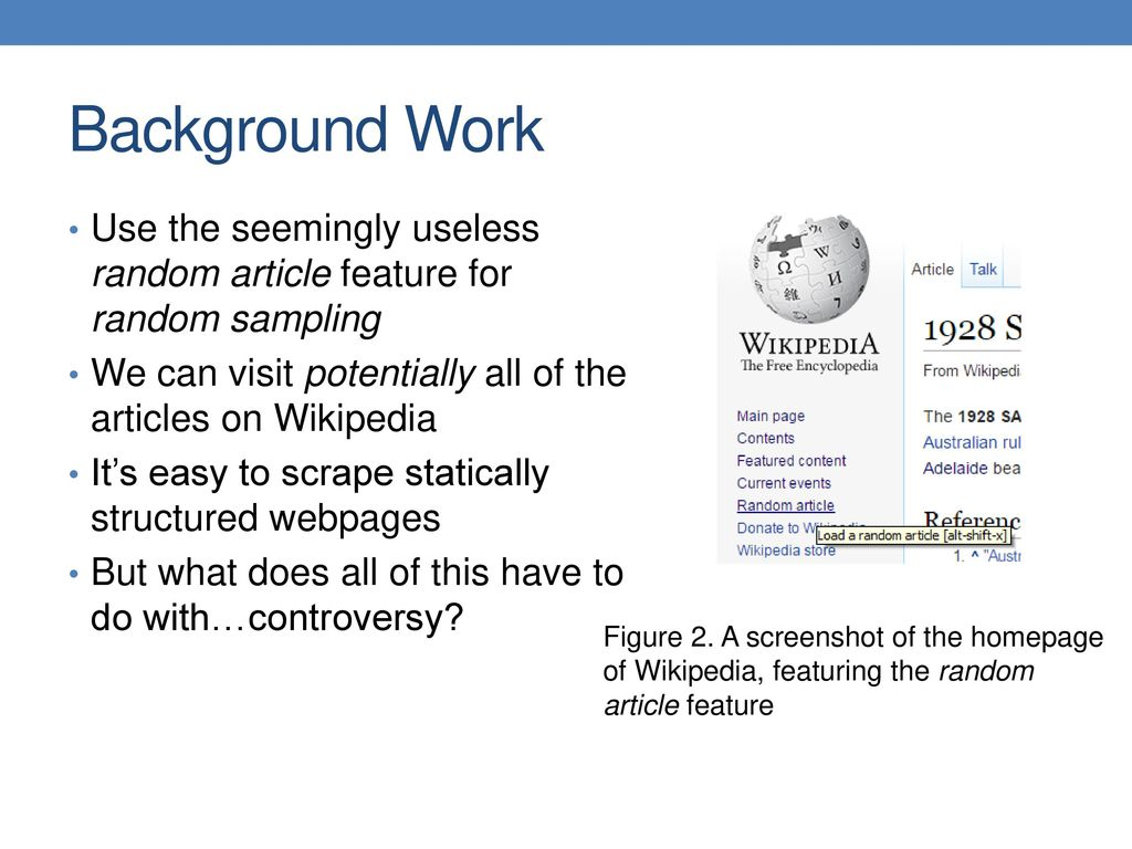 Predicting the controversy of a Wikipedia article - ppt download