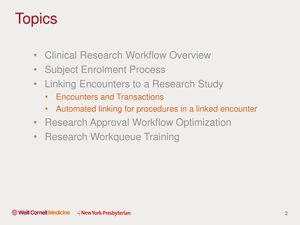 Research Approval Workflow EPIC Optimization - ppt download