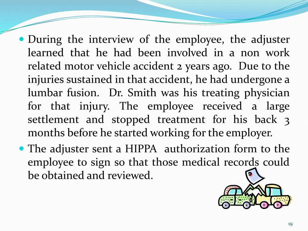NJ Workers' Compensation Case Studies - ppt video online download