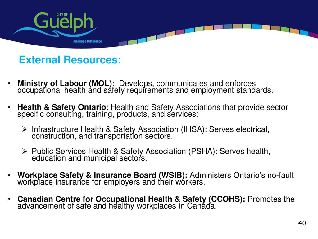 Health and Safety Awareness Training ppt download