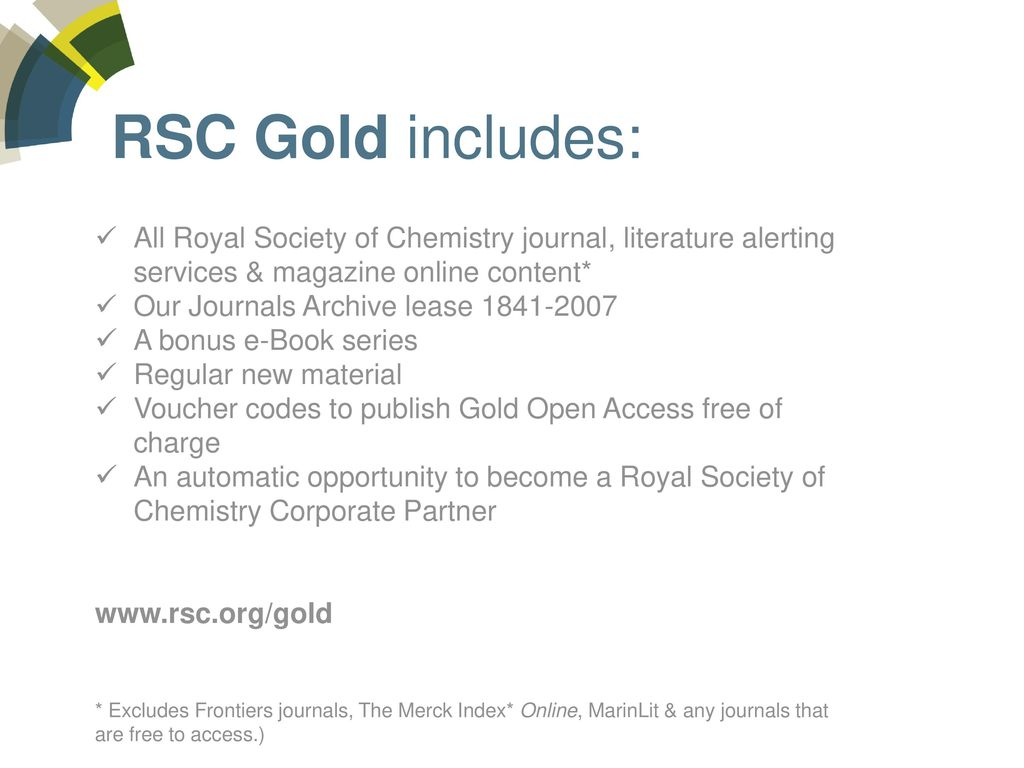The Royal Society of Chemistry Publishing Resources - ppt download