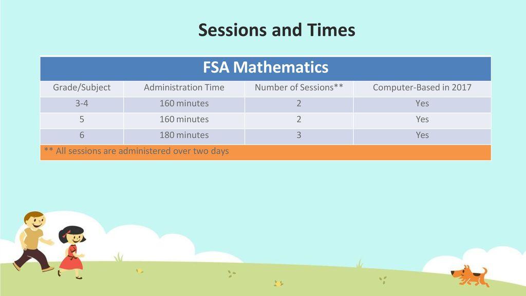 3rd Grade FSA Parent Night - ppt video online download