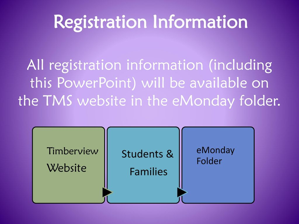 Timberview Middle School Registration Ppt Download