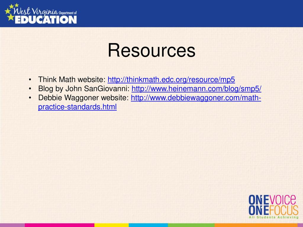 Mathematical Habits of Mind Webinar Series - ppt download