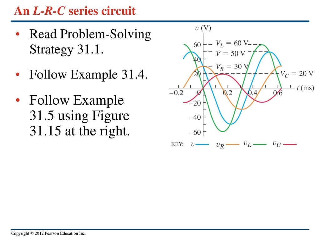 Chapter 31 Alternating Current Ppt Video Online Download Series Circuit Examples Real Life Added To The An L R C