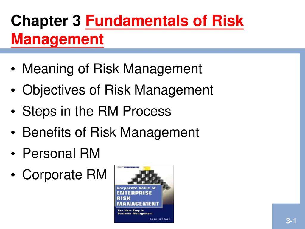 Chapter 3 Fundamentals of Risk Management - ppt download