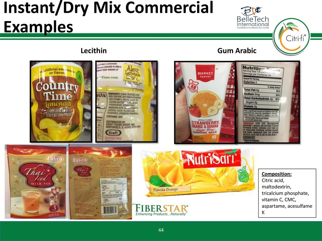 fiberstar inc citri fi functional benefits in beverage products