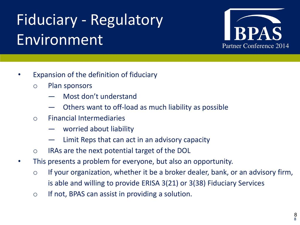 ira rollovers, myplanloan, and fiduciary services - ppt download